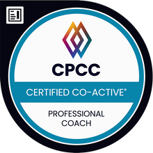 CPCC Certified Co-Active Professional Coach Logo